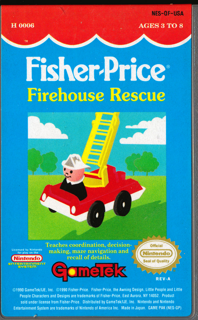 Index of /NES/Fisher Price - Firehouse Rescue