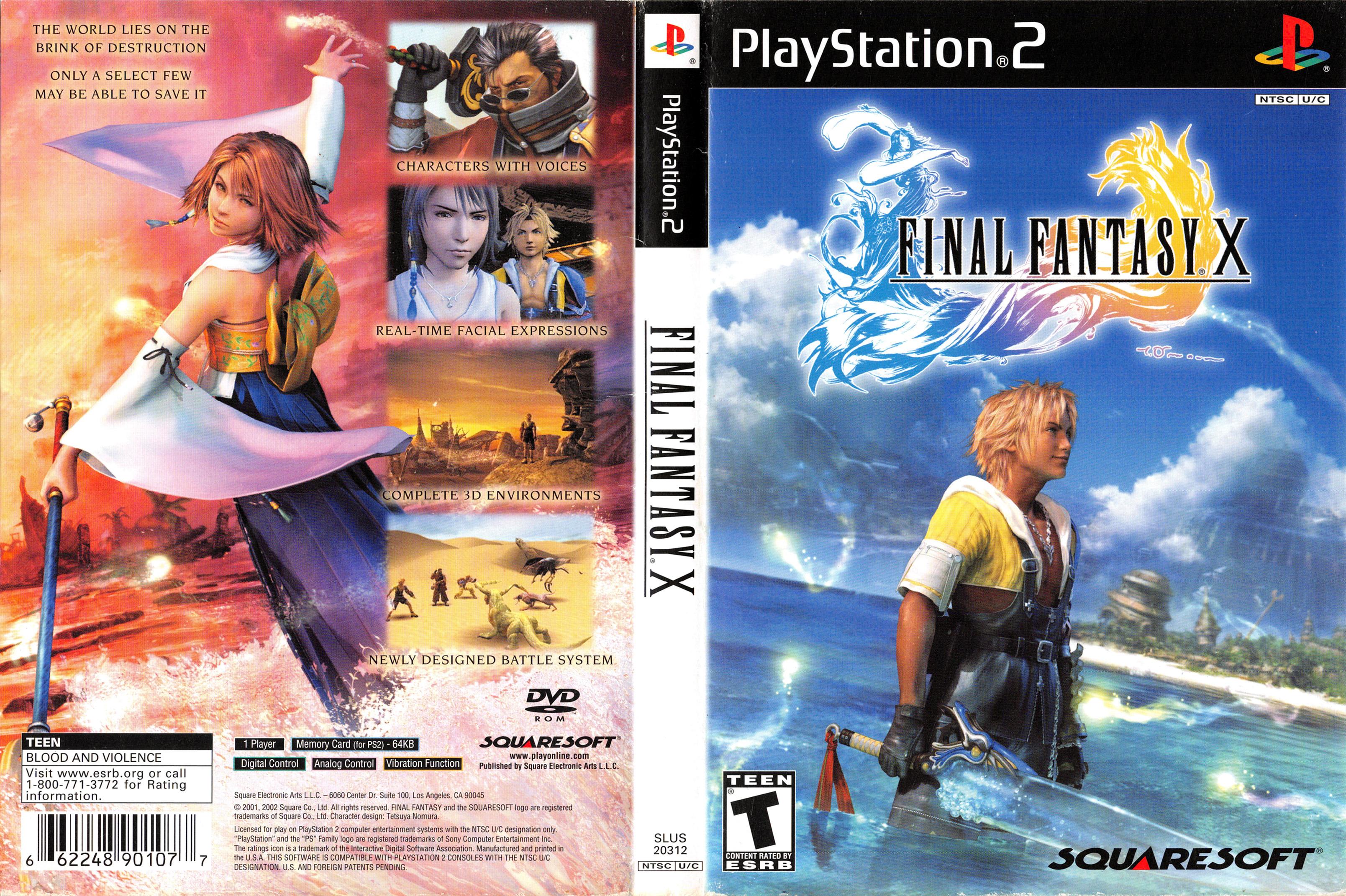 Final Fantasy 10 cover